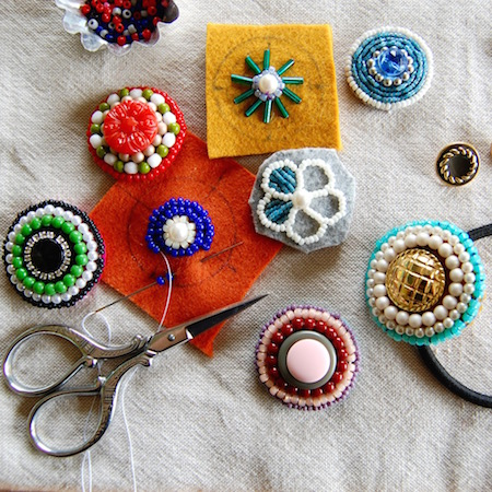 PHOTO: Beads enbroidery